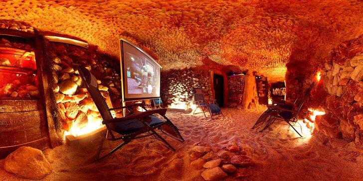 Ozdravný pobyt v pravé solné jeskyni: jednotlivé vstupy nebo permanentka