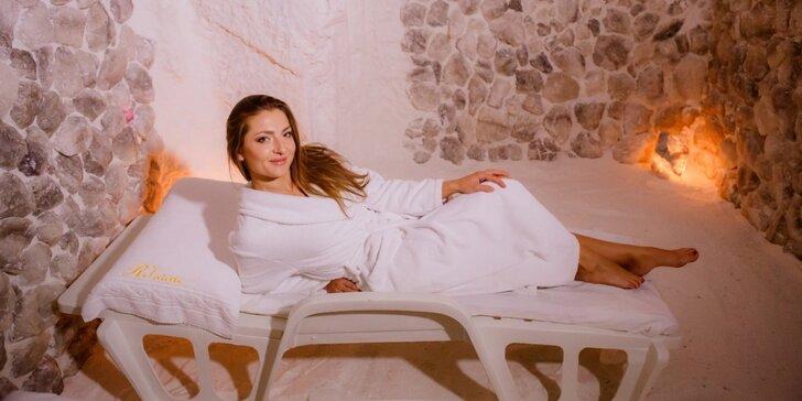 Relax pro ženy ve Slunečním studiu: Lymfodrenáž a odpočinek v solné jeskyni