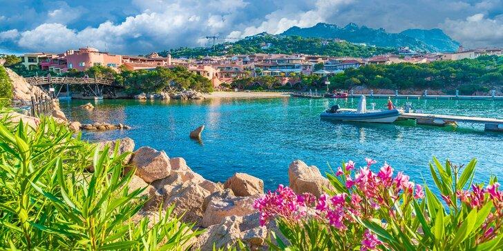 V červnu na Sardinii: zájezd s dopravou, průvodcem, ubytováním v bungalovu