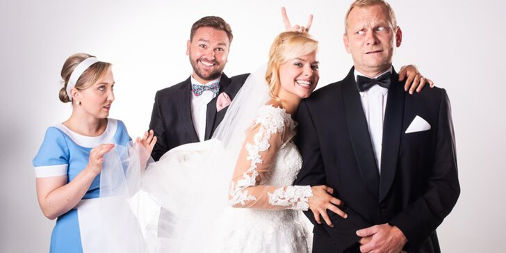 Vstupenka na představení Dokonalá svatba v Divadle Na Maninách