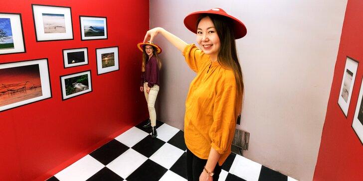 V listopadu do muzea: interaktivní Muzeum Smyslů plné optických klamů a iluzí
