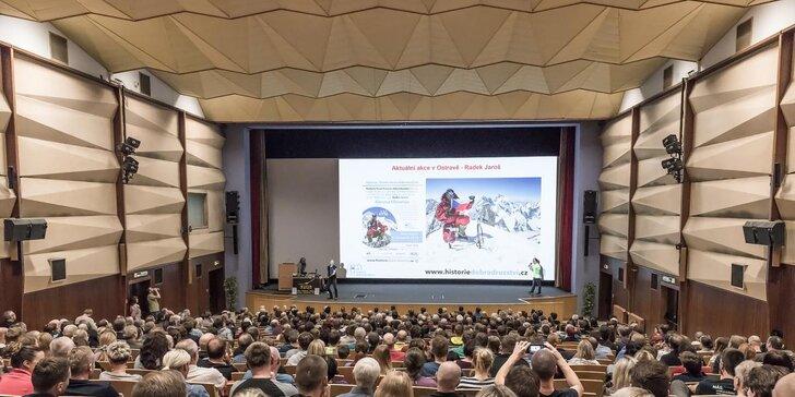 Horolezecký podzim v Ostravě: Přednášky autorů světového prvovýstupu a nejlepšího sportovního lezce světa