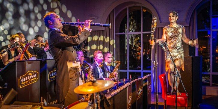 Vstupenka na hudební show s Original Vintage Orchestra v klubu Lávka