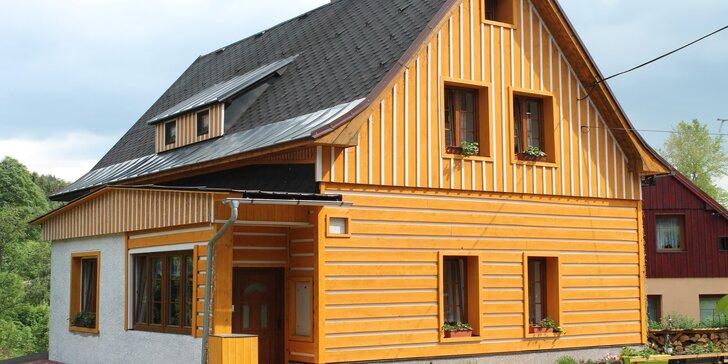 3–8 dní v klidu Jizerských hor: apartmány až pro 4 osoby