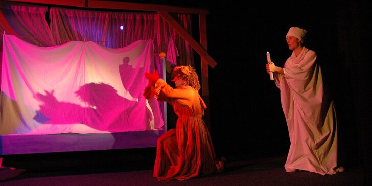 Vstupenka na dětské představení Strašidla v Divadle Minaret
