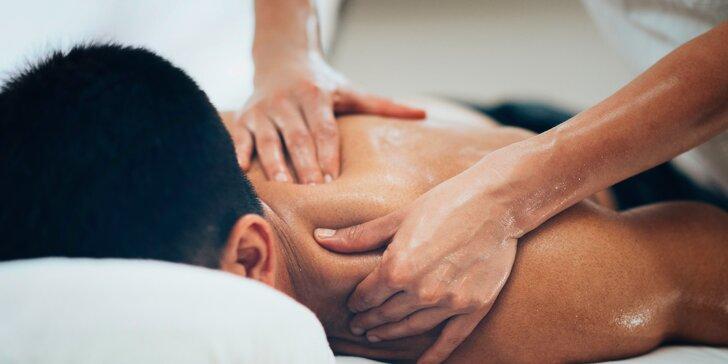 45–90 min. masáže od profesionálních slabozrakých masérů