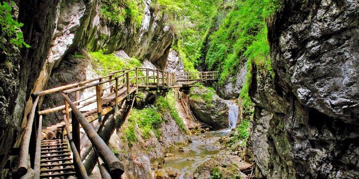 Přírodní krásy: Poznávací výlet do kaňonu Medvědí soutěska v Rakousku