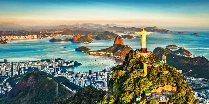 Exotická dovolená v Brazílii: české zázemí, snídaně, výlety i koupání na pláži