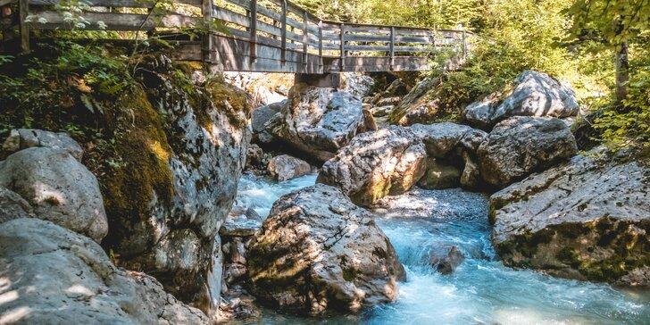 Jednodenní výprava za nejkrásnějšími soutěskami rakouských Alp