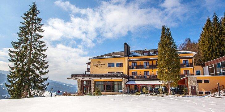 Krásná zima v rakouských Alpách: pobyty s polopenzí i neomezeným bazénem