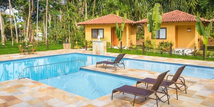 Luxusní pobyt v tropické Brazílii pro dva: hotel s bazénem a českým majitelem