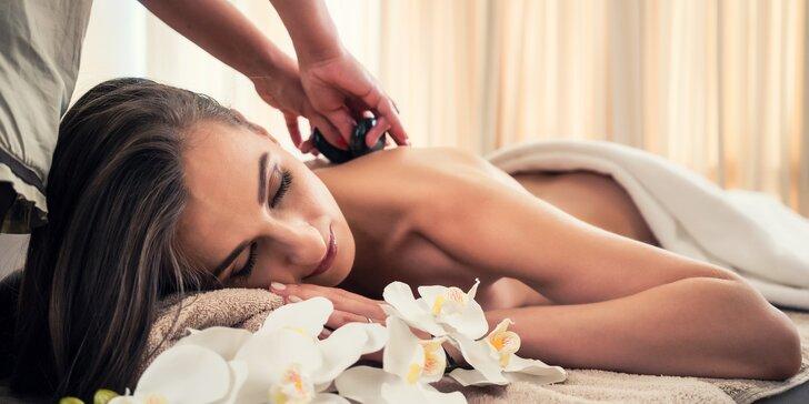 120 minut luxusu a péče v Diamond Spa: masáž, lázeň, maska a oxygenoterapie
