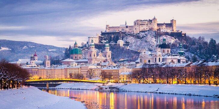 Vánoční kouzlo: jednodenní zájezd autobusem do adventního Salzburgu