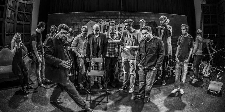 Vstupenka na stand-up show s Underground Comedy v Mníšku pod Brdy