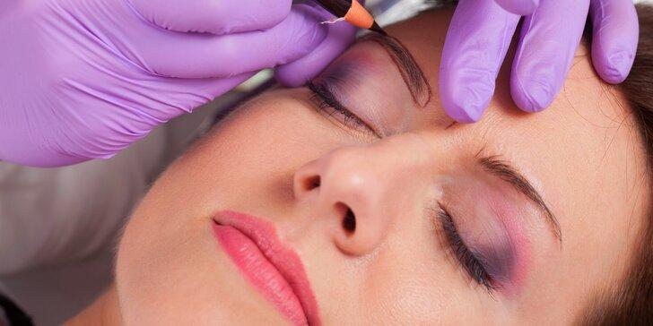 Permanentní make-up obočí pro dokonalý vzhled v každé situaci