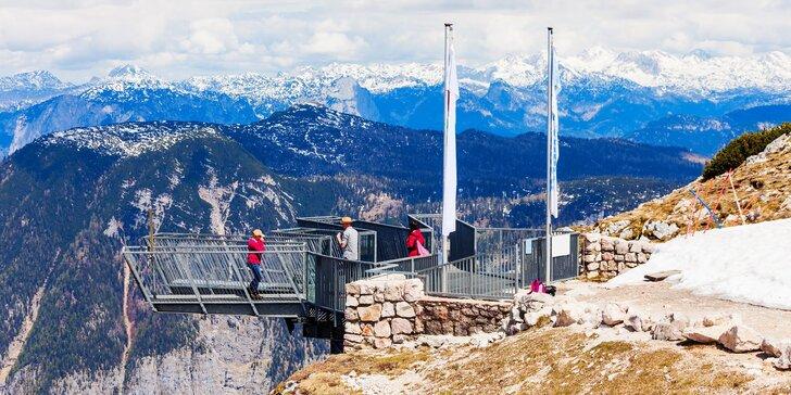 1denní výlet na Dachstein do Rakouska: vyhlídka Pět prstů i Mamutí jeskyně