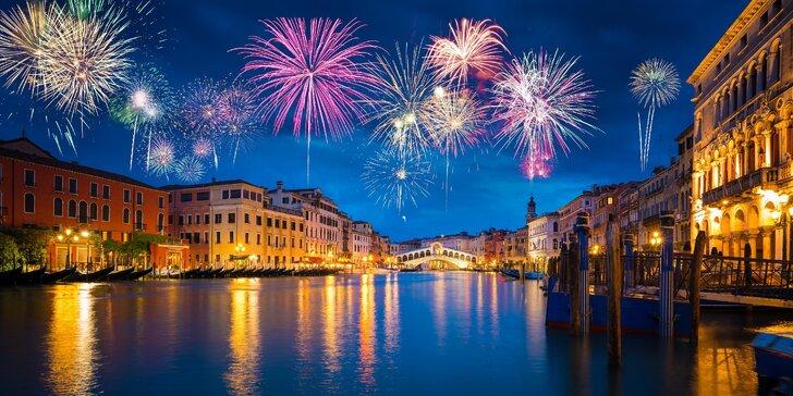 Romantický silvestr v Itálii: Benátky a Verona s ubytováním na 1 noc a snídaní