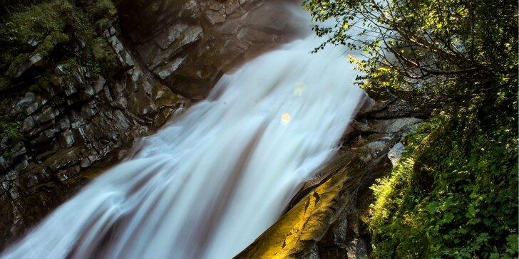 Vysoké Taury: zájezd ke Krimmelským vodopádům a do Zell am See, 1 noc vč. snídaně