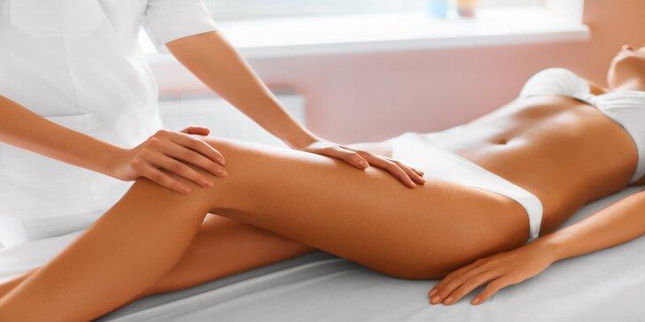 Ruční lymfatická masáž dolních končetin, celého těla i včetně zábalu