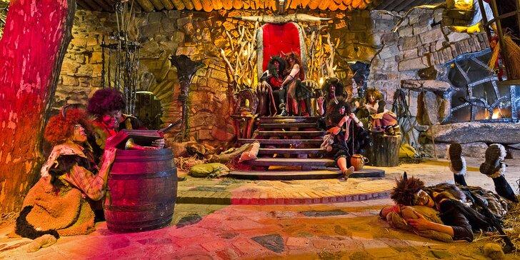 Romantická noc v Pekle Čertovina: polopenze, vířivka a pekelný program