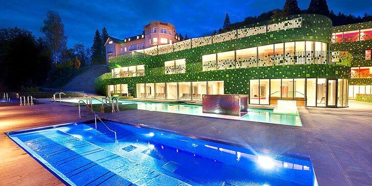 Blahodárný pobyt ve slovinských lázních: hotel s polopenzí a neomezeným wellness