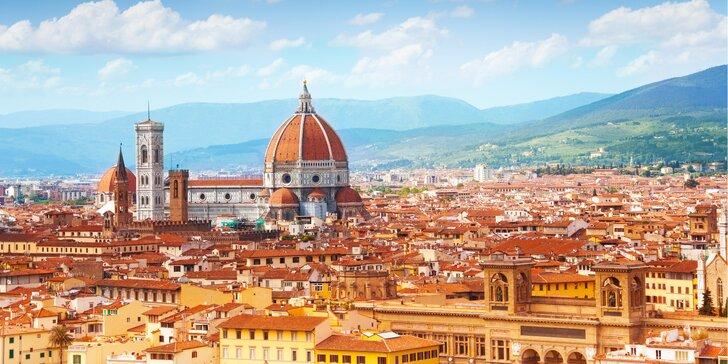 Renesanční Florencie a velkolepý Řím: zájezd s dopravou i ubytováním