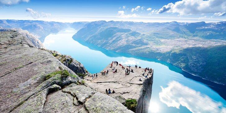Velký poznávací okruh Norskem: 3x nocleh, autobusová doprava i trajekty