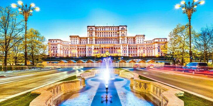 5denní poznávací zájezd do Rumunska: doprava a dvě noci v hotelu se snídaní