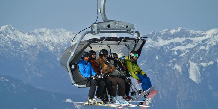 1denní lyžování v rakouských Alpách ve skiareálu Semmering - Stuhleck