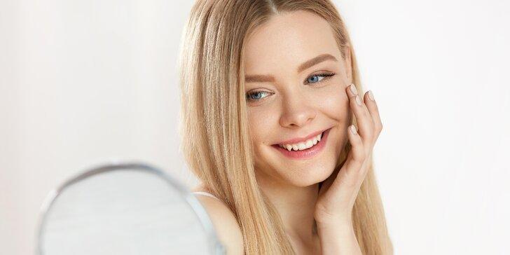 Exkluzivní kosmetické hýčkání včetně masáže a biostimulačního laseru