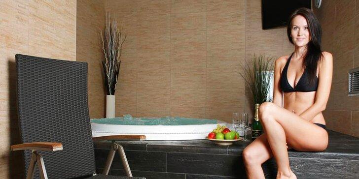 Romantika a relaxace pro dva: 90 minut ve wellness centru a solné jeskyni