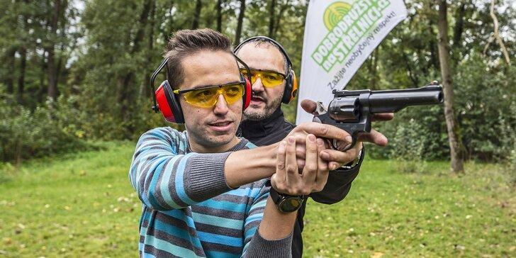 Dobrodružství na střelnici: 13 balíčků včetně dětského, až 20 zbraní