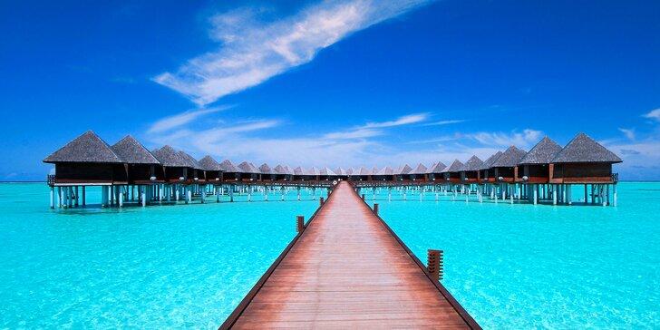 Boží dovolená v 4*+ resortu na Maledivách: 6–12 nocí s all inclusive, 2 bazény