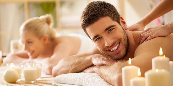 Relaxace pro dva: masáž pro páry i kamarádky s výběrem z 5 druhů