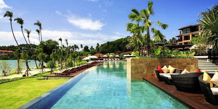 Krásný 5* resort v exotickém Thajsku: 6–12 nocí se snídaní, soukromá pláž