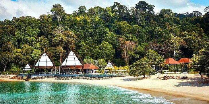 Leťte si užívat na Langkawi: 5* resort Ritz-Carlton s polopenzí a vlastní pláží