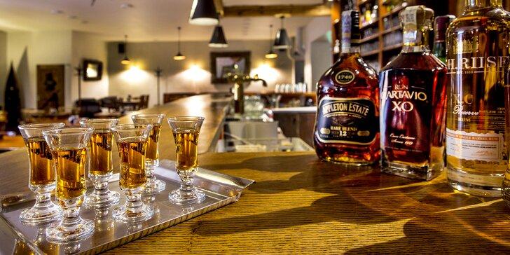 Degustace rumů z celého světa podle výběru a občerstvení