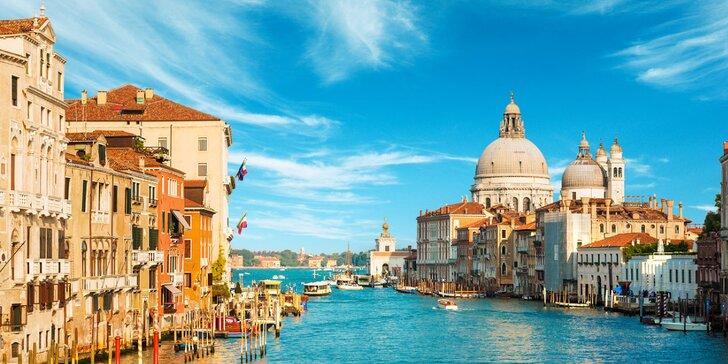 Zájezd do Benátek a shakespearovské Verony: nocleh, snídaně a průvodce