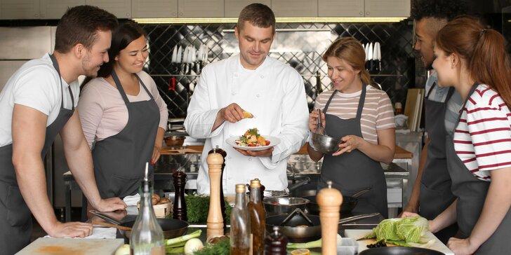 4hodinový kurz vaření v oblíbené škole Presto: naučte se kouzlit u plotny