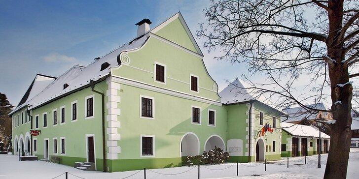Romantika v centru Českého Krumlova: 2 nebo 3 dny se snídaní či s polopenzí