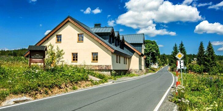 Jaro na Šumavě: nové apartmány mezi Modravou a Kvildou s polopenzí