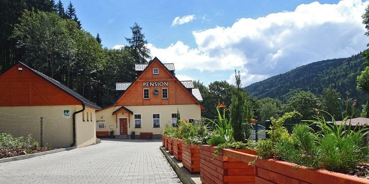 Pobyt v apartmánech v Krušných horách s vlastní kuchyňkou a snídaněmi