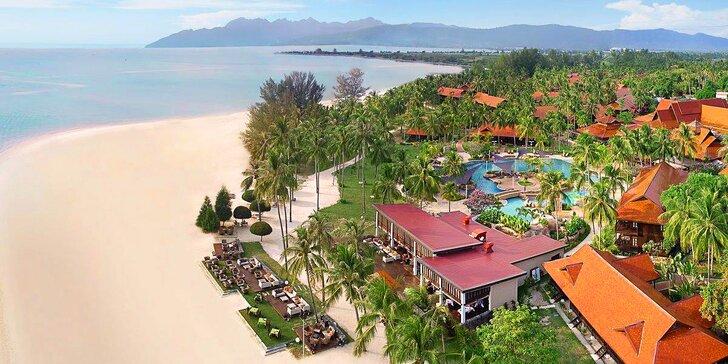 1 až 2 týdny na ostrově Langkawi: 5* resort na nejoblíbenější pláži Pantai Cenang