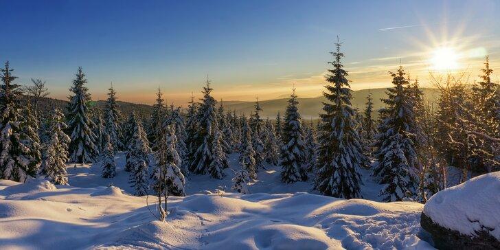 Pohoda v Jizerských horách: pobyt se snídaní nebo polopenzí