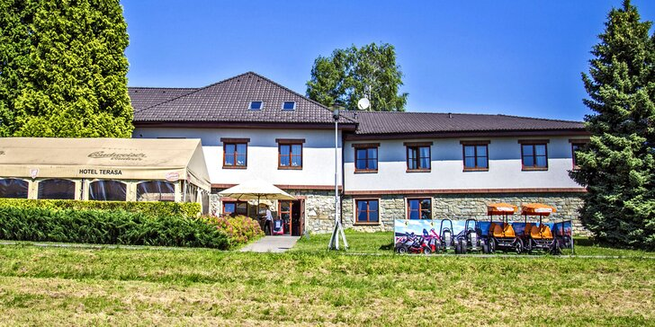 Zimní nebo jarní pohoda ve 4* hotelu v Beskydech s privátním wellness a polopenzí