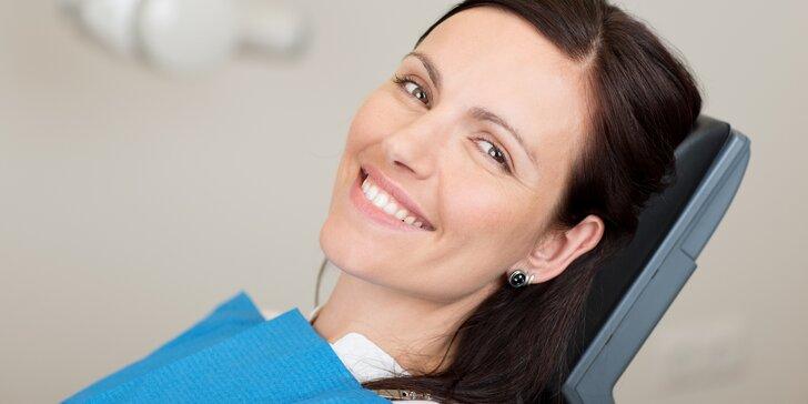 Bezperoxidové bělení zubů gelem: zesvětlení až o 4 odstíny