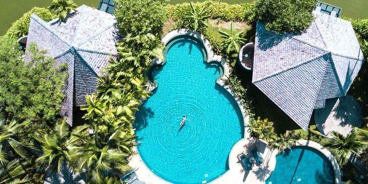 Krásný 4* resort v Thajsku: 6–12 nocí, snídaně, 3 bazény, 200 m od pláže
