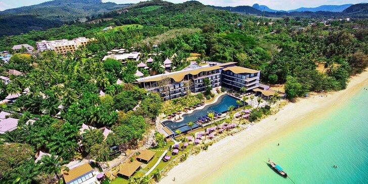 4* resort v Thajsku: 6–12 nocí, snídaně, velký bazén, 100 m od pláže