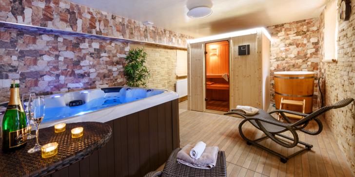 Tři dny v půvabném apartmánu na Šumavě – snídaně, wellness a lyžování