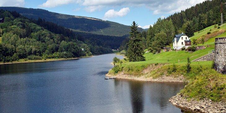 Jaro, léto a podzim v apartmánu ve Špindlu: 2–7 nocí s výhledem na přehradu